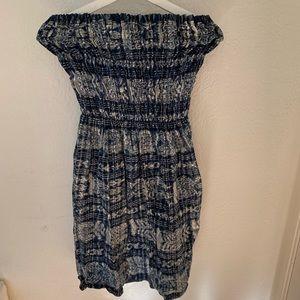 Mud cloth tube dress